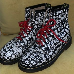Andy Warhol Doc Martens (RARE) Size 6